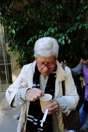 Coffee Cup Coffee - Drink Senior Adult Holding Drinking Senior Men Drink Outdoors Food And Drink One Person Day Eyeglasses  Adults Only Men Only Men One Man Only Adult Food People Wireless Technology