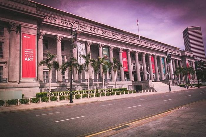 The National Gallery Singapore Singapore Sonyrx100iv Lightroom Sginstagram Art Architecture