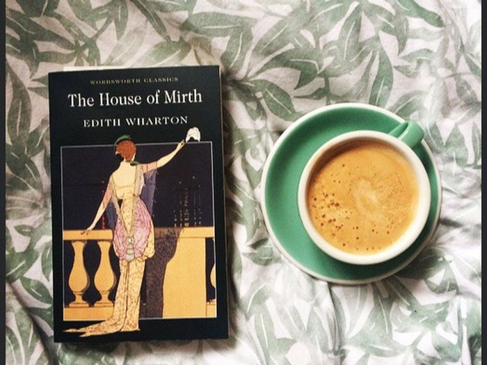 English literature degree is the best one. Getting to read everyday and enjoy a thought provoking coffee English Literature Degree Coffee Time Novel Edith Wharton