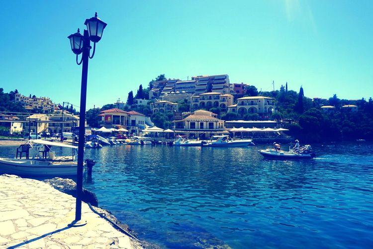 Hothothot Breathtaking Pictureofmyday Sivota <3 Greece Boats Boats Boats Boatlife Calmingwater Takemybreathaway