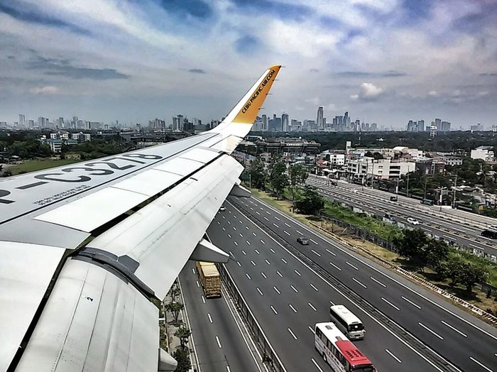 SkylineFrom An Airplane Window Eyeem Philippines Get Moving My Best Photo 2014 Look Down Taking Photos Panorama Perspectives Traveling EyeEm Manila