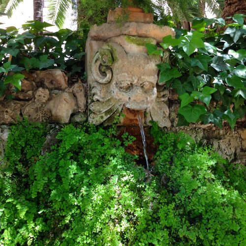 Palma Fountain Secret Garden Archetype Palma Majorca Loving Every Minute IPhoneography