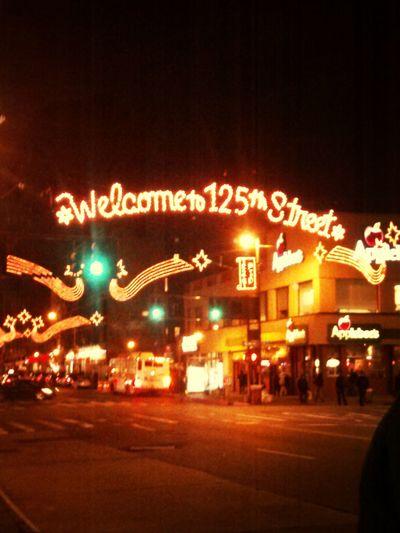 NYC Harlem  125th St