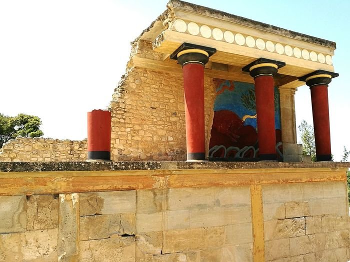 Knossos Palace Knossospalace Architecture Old Architecture The Great Outdoors - 2016 EyeEm Awards At An Exhibition Crete Ruins Ruins Architecture