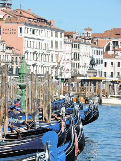 Architecture Italie Gondole Gondole In Venice Aventure Voyages Venise