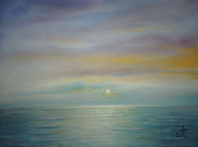 "Sunrise over in Malibu los Angeles California ,I drove 3 am got there 4 am just to see this and now you my friends get to see exactly what I saw yesterday morning ,please enjoy.oil on canvas 18""_24"" . Tranquility Sea Seascape Beauty In Nature Ocean Sunrise Colors Nature Vibrant Color Tranquil Scene Art, Drawing, Creativity Fine Art Oil Painting My Art Colllection Drawing Iconicbeach Popular Friendship. ♡   Love ♥ Koi. With"