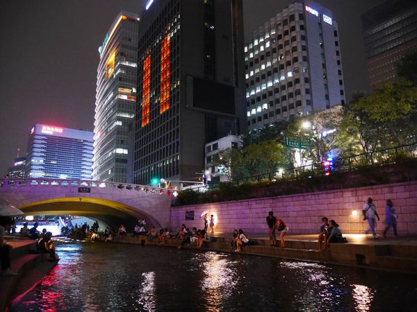 Seoul and night