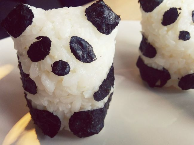 Taking Photos Enjoying Life Food <3 Panda Onigiri Friendship My World Of Food