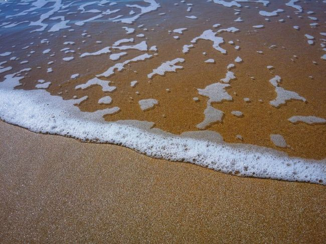 The Signature Of The Sea Sand Beach Patterns Punta Braccetto Ragusa Sicily Italy Travel Photography Travel Voyage Traveling Mobile Photography Fine Art Nature Sand Sea Waves Low Tide Golden Light Reflections And Shadows Mobile Editing