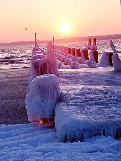 #germany #Lübeck #ostsee Winter Ice Cold Temperature