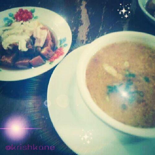 Macky's goto, tokwa't baboy! Yummy BreakfastwithTeam 09132013