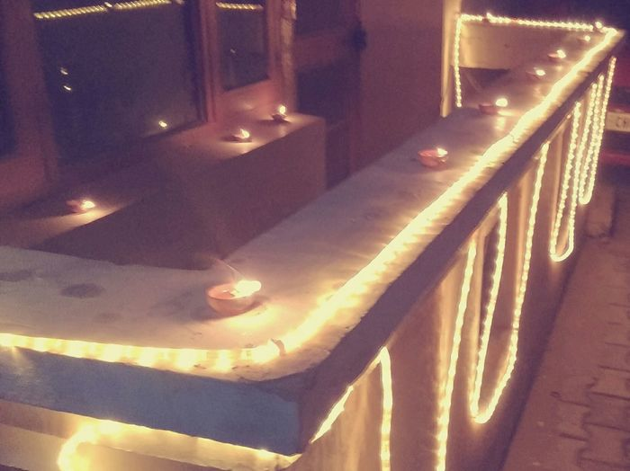 Taking Photos DiwaliWithoutCrackers PollutionFreeDiwali Decorations Diyas Light