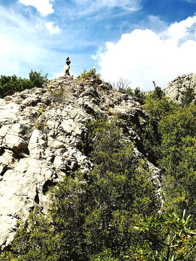 Nature No People Rock Formation Mountain Rockstanding
