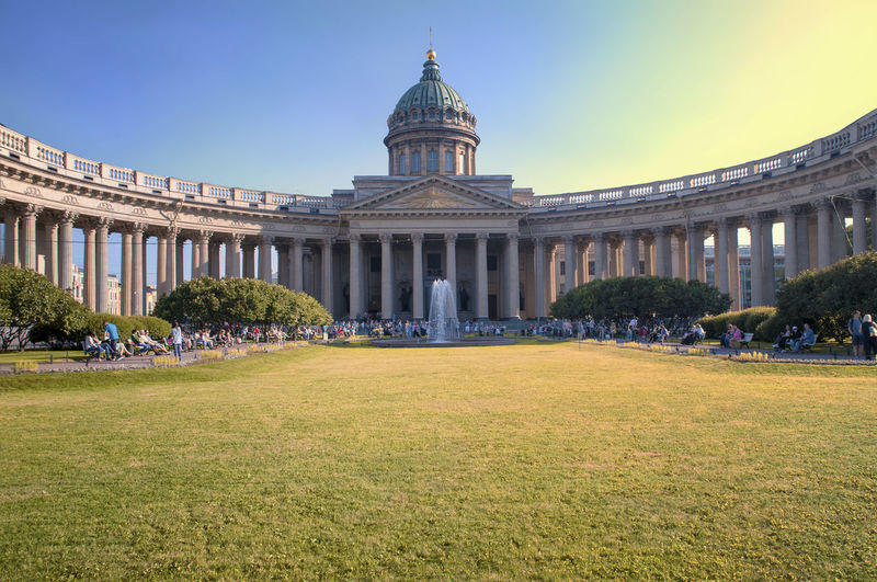 Architecture Building Exterior City Cityscape Day Dome Government History Kazan Cathedral No People Outdoors Politics And Government Sky Tourism Travel Travel Destinations