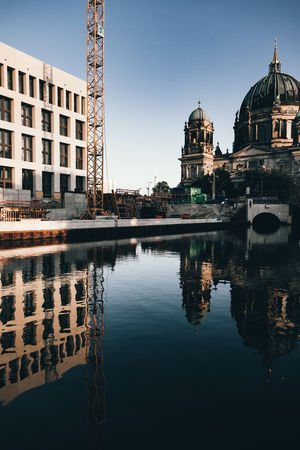 Architecture Belief Building Building Exterior Built Structure Canal City Nature No People Outdoors Place Of Worship Reflection Religion Sky Spirituality The Past Travel Destinations Water Waterfront