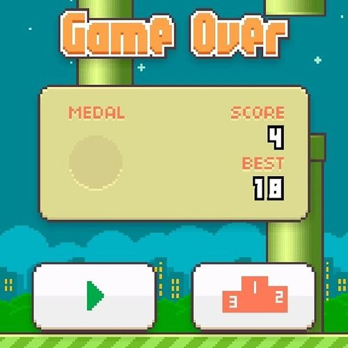 Frustration at its finest! GAWD Helpme Frustrating Butaddicting worsethandrugs flappybird