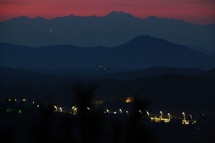 Hengshan Mountian Sunrise Bueatiful Take Photos My City