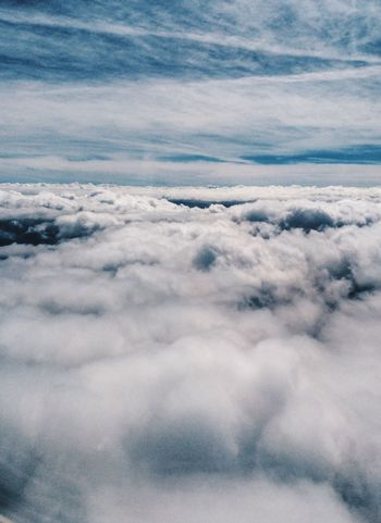 Walking on the clouds