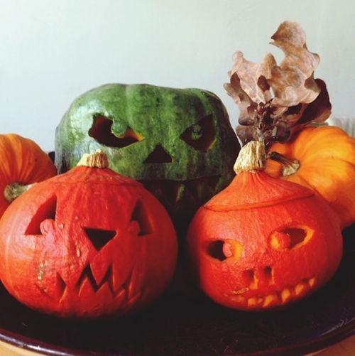 Automn Pumpkins Halloween