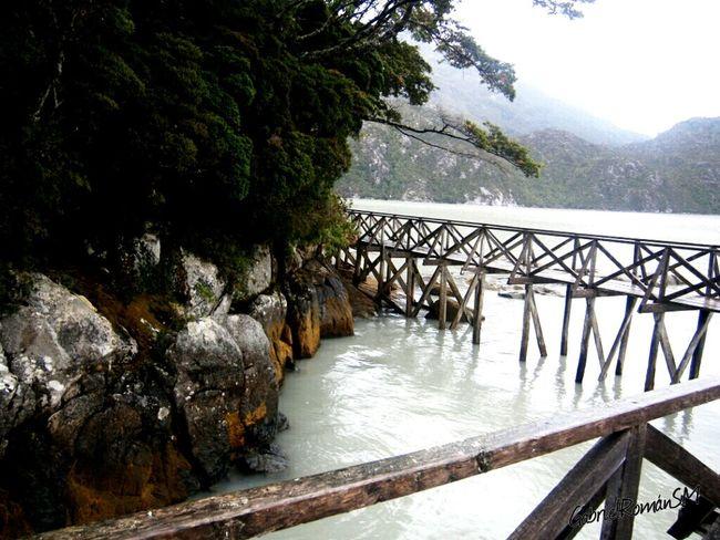 Caleta Tortel Patagonia Chilena Pasarelas Mochileando Taking Photos Lugar Magico Enjoying Life Recomiendo Chile Cipres De Las Guaitecas