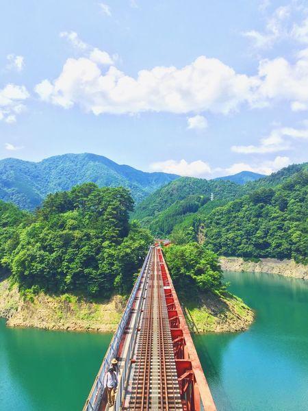 Okuoikojo Station (Rainbow Bridge) Kawanehoncho Haibaragun Shizuoka Japan Okuoikojo 静岡 川根本 EyeEm Nature Lover EyeEm Gallery EyeEm Nature