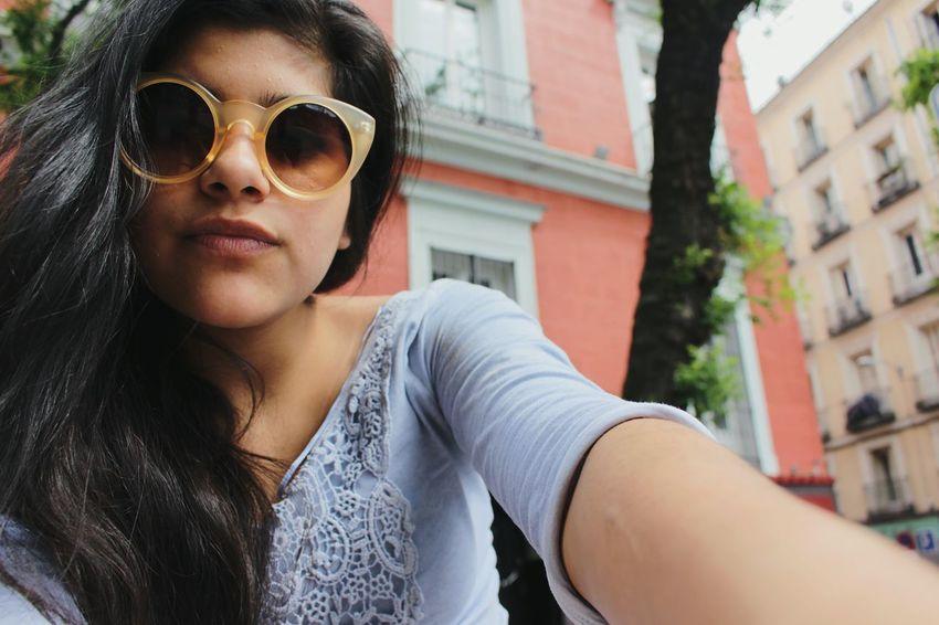 Glasses Madrid Girl Rest