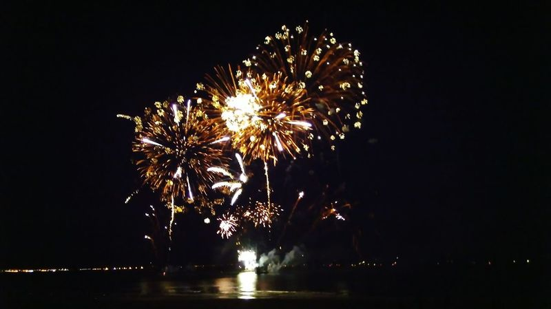 Celebration Night Firework Display Illuminated Exploding Firework - Man Made Object No People Sky Low Angle View Outdoors City Celebration Event Bonne année Bonne Année Bonneannee