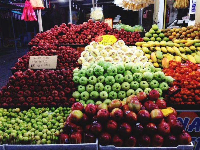 Aneka pilihan Malaysia Truly Asia Abundance Variation Market Stall For Sale Choice Retail  Multi Colored Apple - Fruit Price Tag