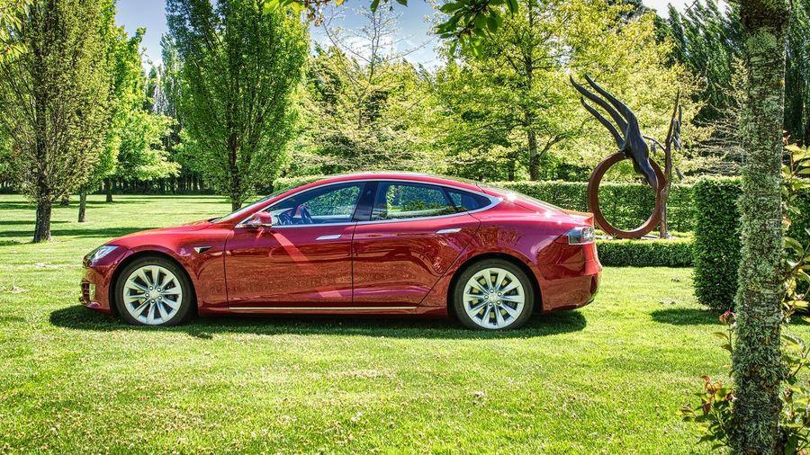 Red Tesla Model S Red Tesla Model S Tesla Tesla Model S You Wish
