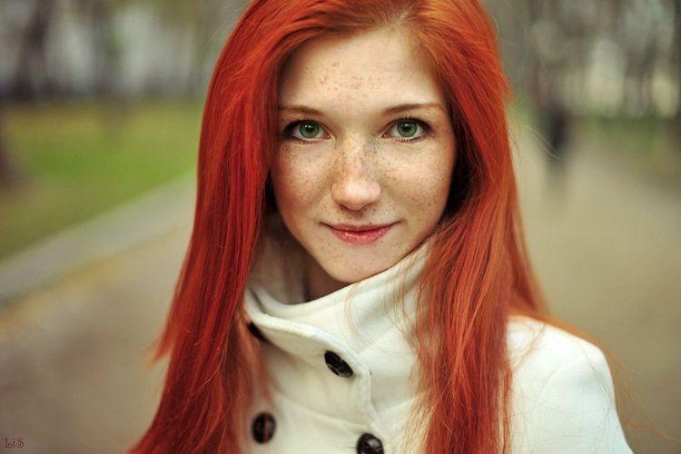 Солнечная леди. рыжая веснушки Sunny Redhair First Eyeem Photo