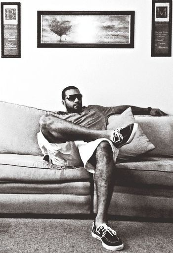 That's Me in my living room Relaxing Grown Man Shit always!!! On My Way to the top!!!