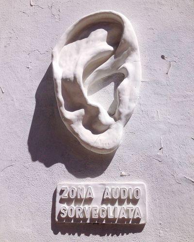 Zona Audio Sorvegliata (Supervised Audio Zone) by Urbansolid - Street Art Streetart Sculpture Urban City Street Navigli Street Culture EyeEm Best Shots Eyeem Photography Milan