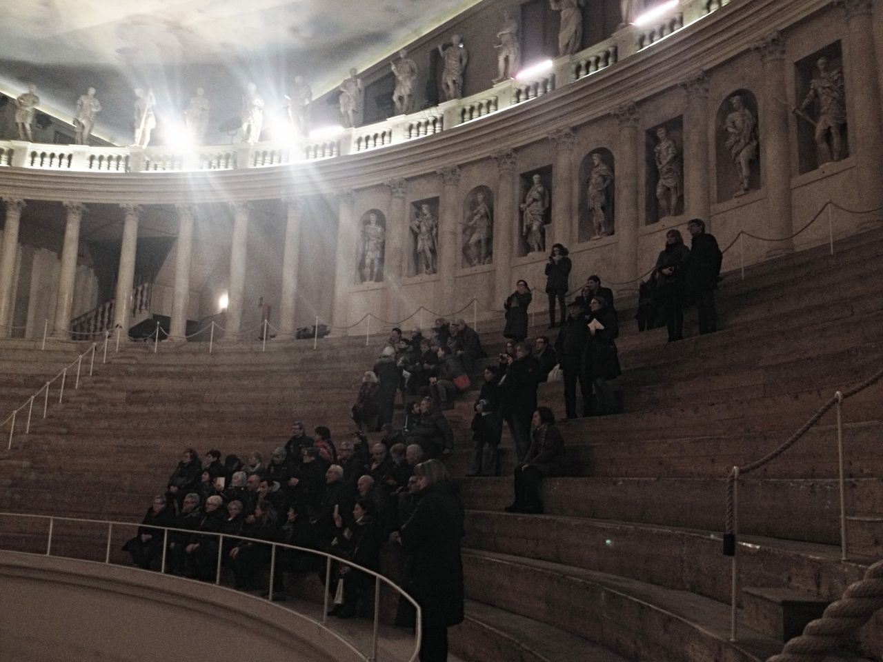 large group of people, real people, architecture, built structure, men, indoors, illuminated, travel destinations, women, day, people, adult