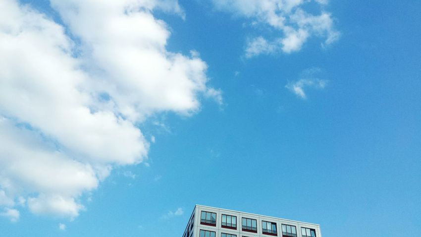 The Graphic City Cloud - Sky Sky Day Outdoors Low Angle View Communication No People