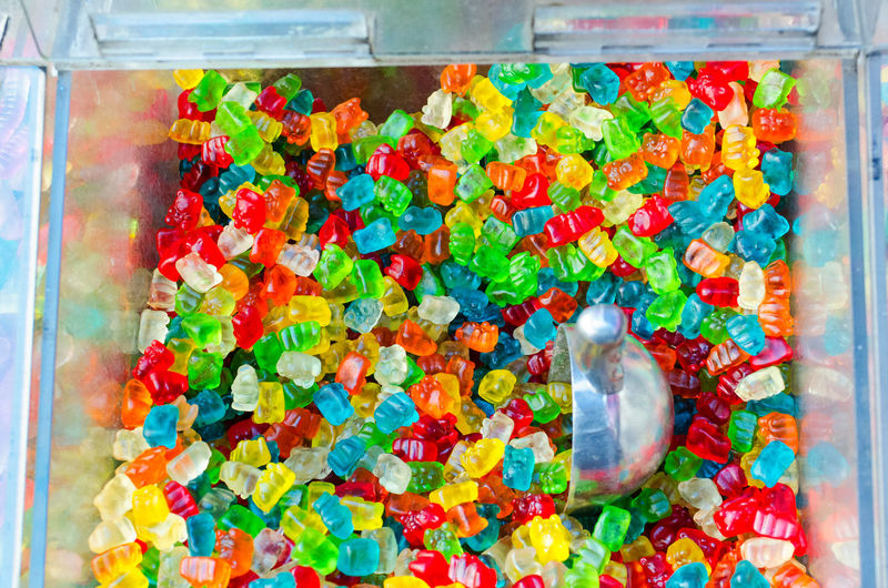 Bulk Candy Candy Shop Close-up Gummy Bears Multi Colored No People Unhealthy Eating Unhealthy Lifestyle Variation