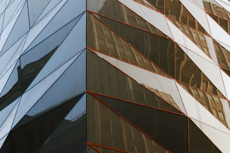 Built Structure Building Exterior Architecture Building Low Angle View No People City Modern Office Building Exterior Sky Reflection Day Office Full Frame Outdoors Nature Glass - Material Pattern Tall - High Sunlight Skyscraper Directly Below