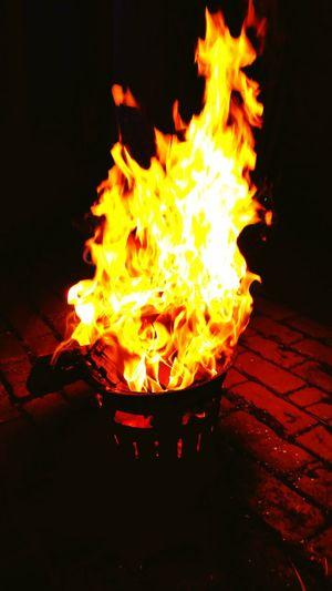 Feuer Hexenfeuer Romantic❤ Hello World Glücklich