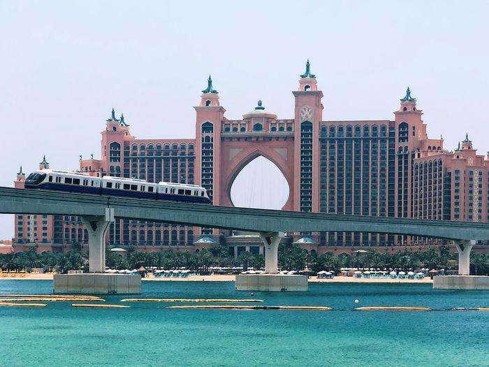 Atlantis United Arab Emirates Dubai Palm Jumeirah Atlantis Hotel The Pointe Jumeirah Palm Hotel Atlantis EyeEm Selects Architecture Built Structure Sky Building Exterior Travel Destinations Tourism Building