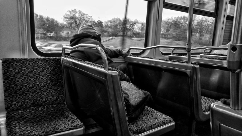 Foggy Monochrome Blackandwhite Train Fog Morning Commute Window Child Sitting One Person Indoors  Day People Looking Through Window Real People The Street Photographer - 2018 EyeEm Awards