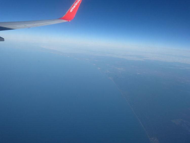 Aussicht vom Flugzeug auf die spanische Atlantikküste. #flying #great #view #airplane First Eyeem Photo