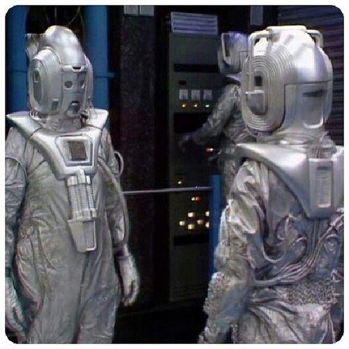 Une bonne tête de phallus ce Cybermen AttackOfTheCybermen DoctorWhoClassic