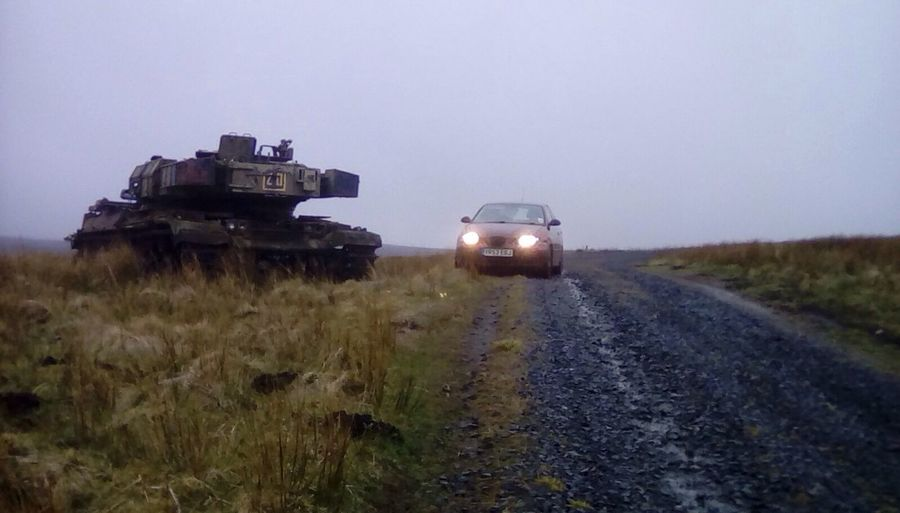 A couple of beasty weapons on otterburn ranges. Seat Cordoba 6l Chieftain Chieftain Tank Otterburn Ranges Weapons Weaponsofwar Northumberland National Park