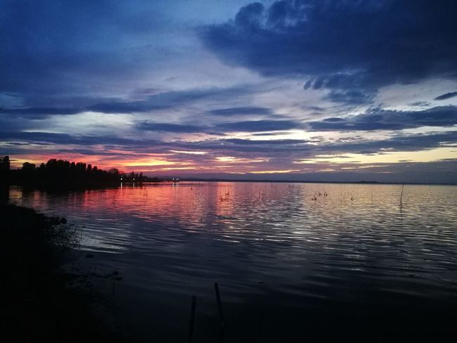 Water Sunset Reflection Red Sea Outdoors Cloud - Sky No People Sky Tranquility Nature Scenics Landscape Night Lake Beauty In Nature Astrology Sign Flamingo Astronomy Lakeside Lake View Silence Silent Moment Silence Of Nature