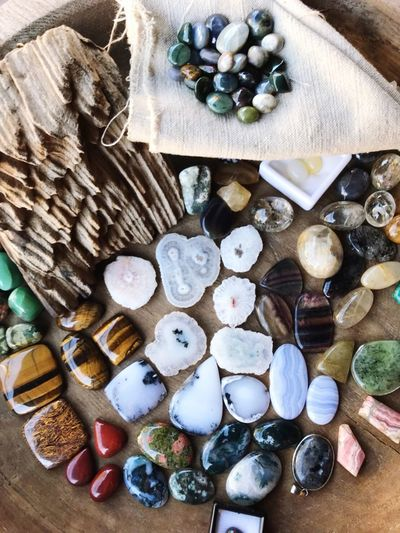 High Angle View Directly Above Large Group Of Objects Abundance Variation Indoors  No People Close-up Food Day Freshness Natural Art  Natural Pattern Natural Nuture Decoration Decor Stone Art Stone Material Outdoors Backgrounds Gemstone  Collection Budism