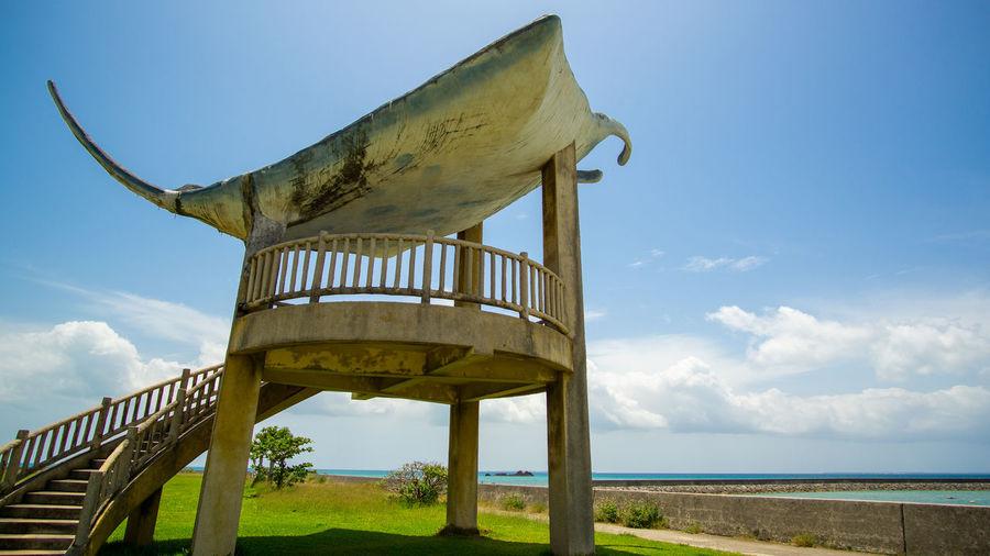 Beach Sea Sky Architecture Cloud - Sky Calm Landscape Grassland Shore Coast