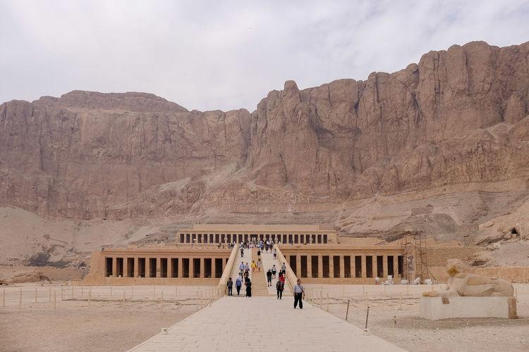 Hatshepsut temple outside of luxor, egypt