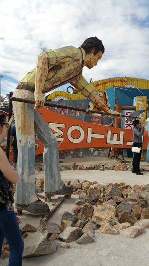 Neon Museum Pattern Of Glass Illusion Limited Natural Light Colorful Natural Colorful Illumination