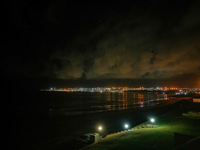 Night Sky Outdoors Water Illuminated First Eyeem Photo