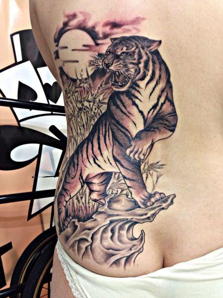 Tattoo Thunder Alley Art 完成!