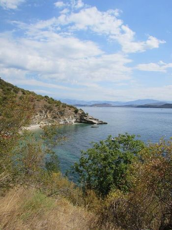 Blue Wave Corfu Greece Island Ocean View Coloursplash Scenery Shots Summer Clear Water Favourite Places Coastline